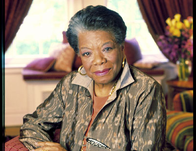 Maya Angelou: Phenomenal. Writer. Activist. Woman.