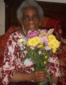 Big Ma and Flowers