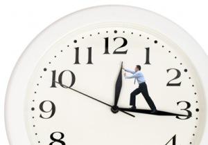 clock turn back